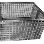 Autoclave lined basket