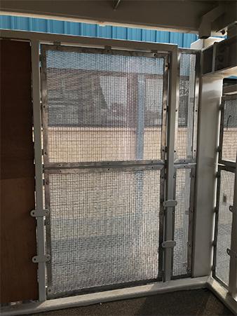 Mesh infill panels