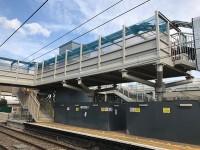 Railway Bridge Woven Mesh with infill panels