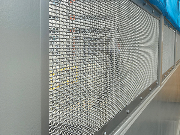 Woven Mesh with frames and Mezzanine