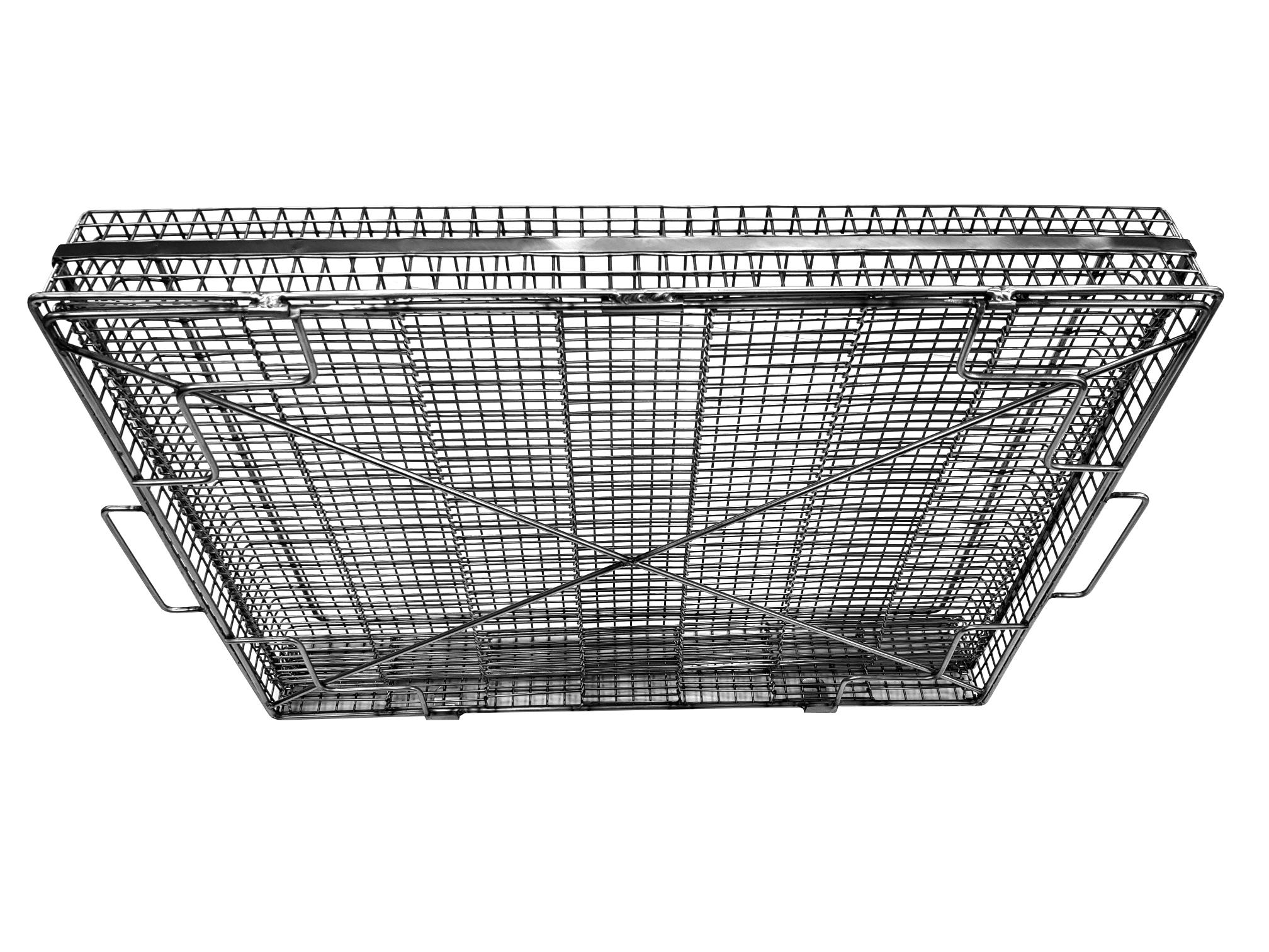Ultrasonic wire basket