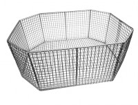stainless steel octagonal baskets
