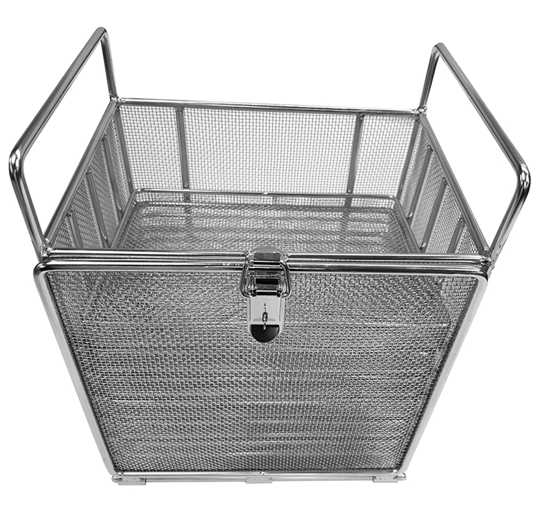 Cleaning basket for small parts
