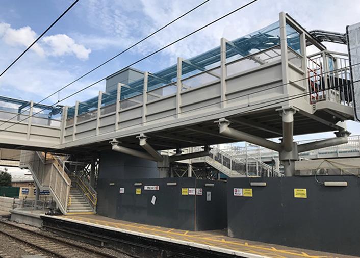 Stairwell mesh