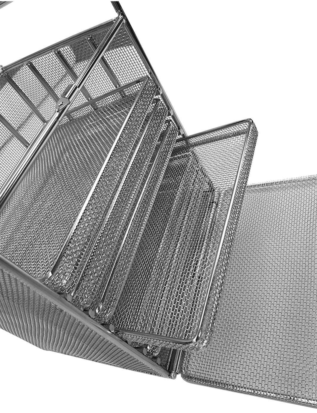 mesh chest of drawers cleaning basket