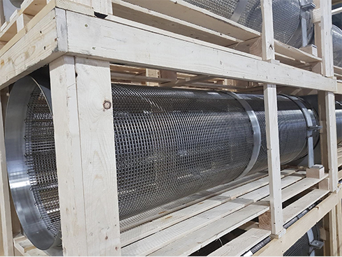 Stainless steel wire filters